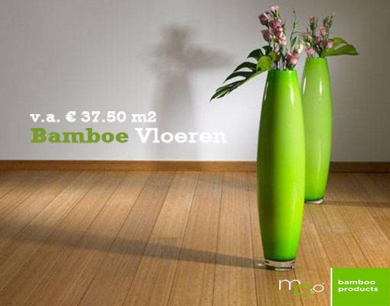 Klein vloer ecologische duurzame bamboe en houtenvloeren