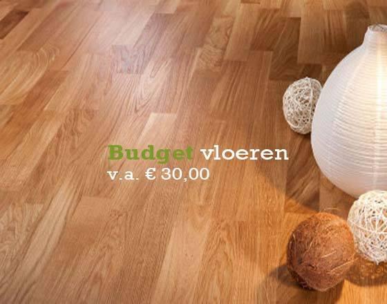 Klein Vloer budget vloeren