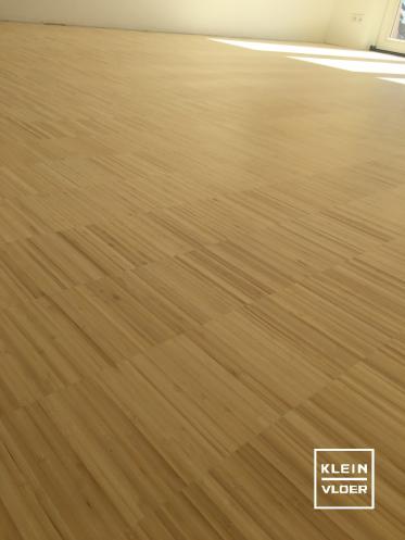 Bamboe industriale afgewerkt met Woca invisible olie
