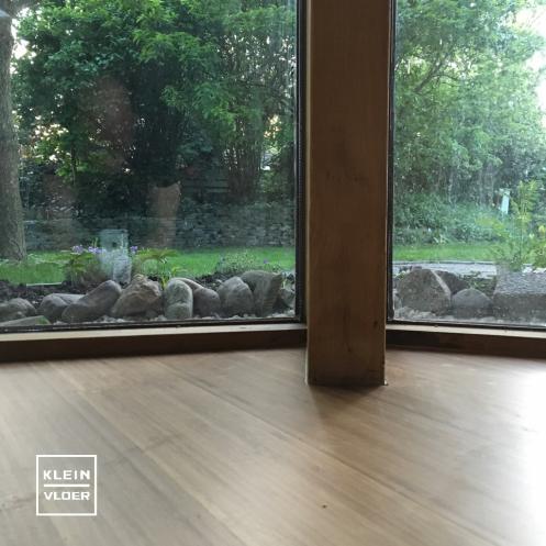 Bamboe supreme vloer gelegd in Yogatudio in Elst(gld)